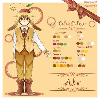 Alvian: The bunny time controller by PeachPink7