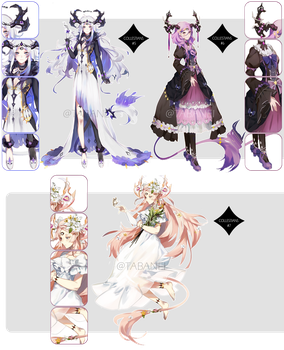 Collestian Adopt Batch [CLOSED] by Tabanei