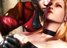 Dante and Trish  Oh-Ah by Ana-Archer