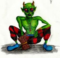 Demon Goblin Colored by artist400