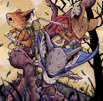 The Return -Mouse Guard by dreno360