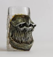 Creepy Beer Mug by FraterOrion