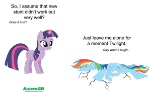 Only when I laugh... by AxemGR