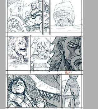One Piece Another Road  Page 1 WIP by CMan96