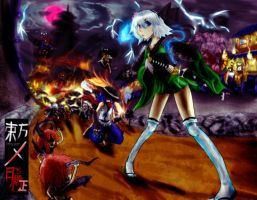 Toho Oboro: Rhapsody of the Demon Blades by Mad-Silence