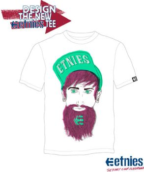 Bearded Tee by Minelaaa