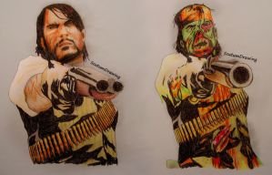Red Dead Redemption and Undead Nightmare by Scutum20