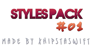photoshop styles pack by xhipstaswift