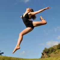 Talya - leotard leap 1 by wildplaces