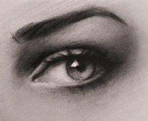 Eye Drawing by gabbyd70
