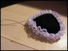 Simple Lolita Eye Patch by Kitty-Sprinkles
