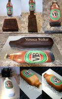 Beer Bottle Cake Step-by-step by Verusca