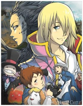 Howl's Moving Castle by weem