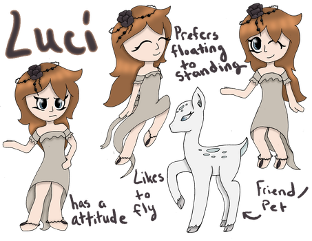 Luci Pose Reference Sheet by para-keet-normal