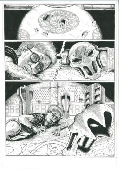 Splatterhouse  Comic PAGE 1 by Crockard