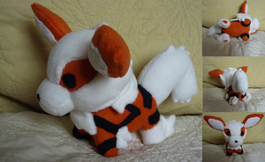 Arcanine plush commission by Plush-Lore