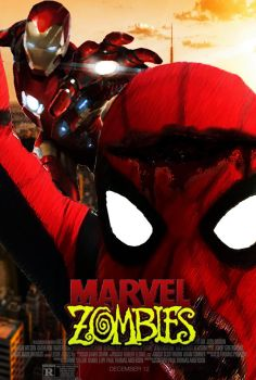 Marvel Zombies Movie Poster (Fan-Made) by TheDarkRinnegan