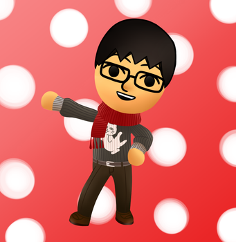 Drawing Practice: My Miitomo Mii! by thegamingdrawer