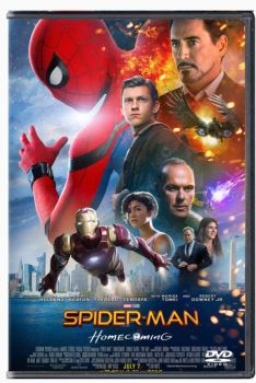 Spider-Man homecoming DVD cover #2 by 619rankin