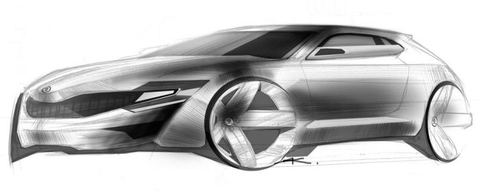 skoda concept by Chrupson