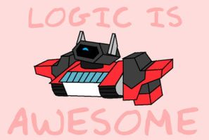 LOGIC IS AWESOME by Fishbug