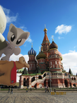 Fella And Llama In Moscow by Goldy--Gry