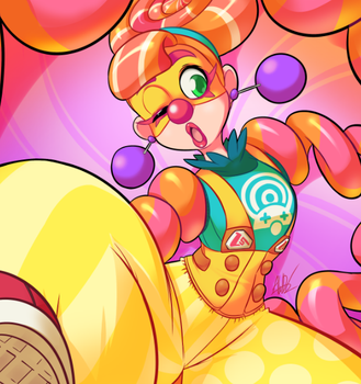 Candy Clown by AndrewDickman
