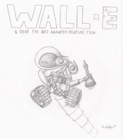 Wall.e Best Animated Film by paint-paint