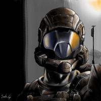 Halo 3 ODST by Mihawq