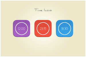 36 Time Icons (freebie by pixelcave) by pixelcave