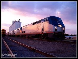 AmTrak at the Arising by factorone33