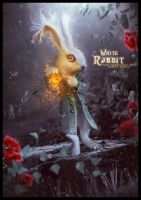 WHITE RABBIT by saritaangel07