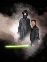Jacen and Lumiya, Legacy of the Force by adamqd