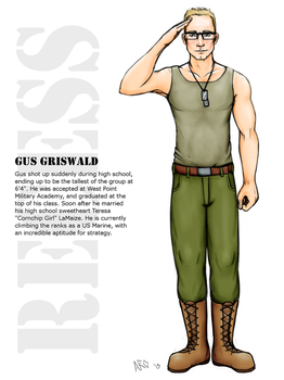 Gus Griswald by Just-AO