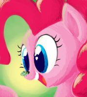 Pinkie Horse by extremeasaur5000