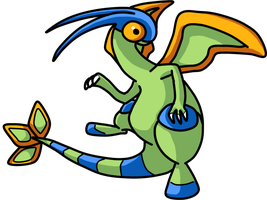 Another shiny Flygon ! by Maryuu7