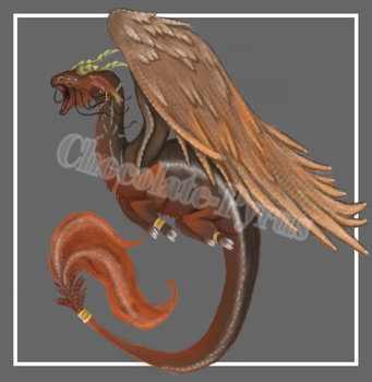 Dragon Adoptable Auction 1 (CLOSED) by Chocolate-Pyrus