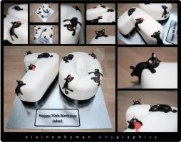 Cat Cake by elainewhy
