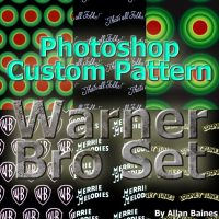 Warner Brothers Patterns by YesOwl