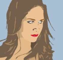 Vectorial with blur by Chavet