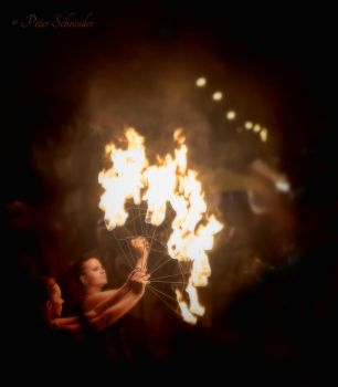 Fire dance. by Phototubby