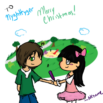 Christmas Request: Nyghttyger by Nezumechan