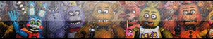 (ANIMATED) Five Nights At Freddy's FAN BUTTON by n4ds