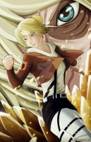 Annie Leonhart by ccayco