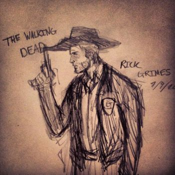 Rick Grimes - TWD by GrimAltair24