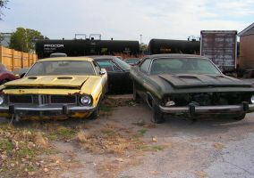 70's Cuda's by colts4us