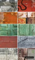 Free Grungy Surface Textures by ormanclark