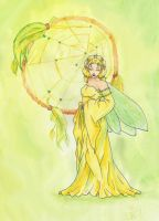 Fae of Spring by Thitida-No-Chey