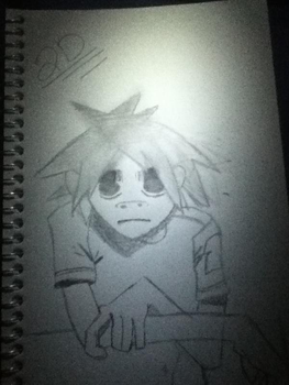 My Drawing Of 2D :) by leave-me-to-bleed