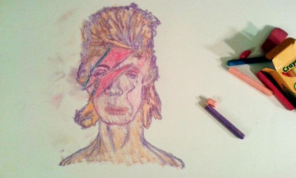 David Bowie by brickwallsam